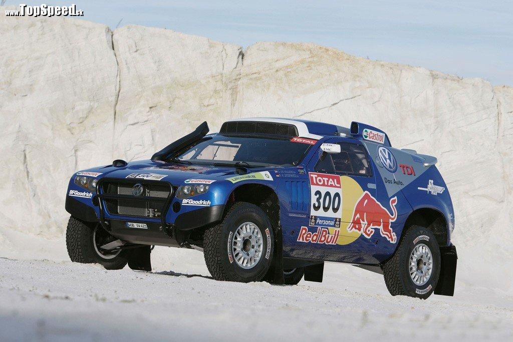 Volkswagen Race Touareg 2 špecifikácie Dakar 2010.