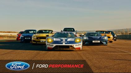 Všetky Ford Performance Cars proti sebe