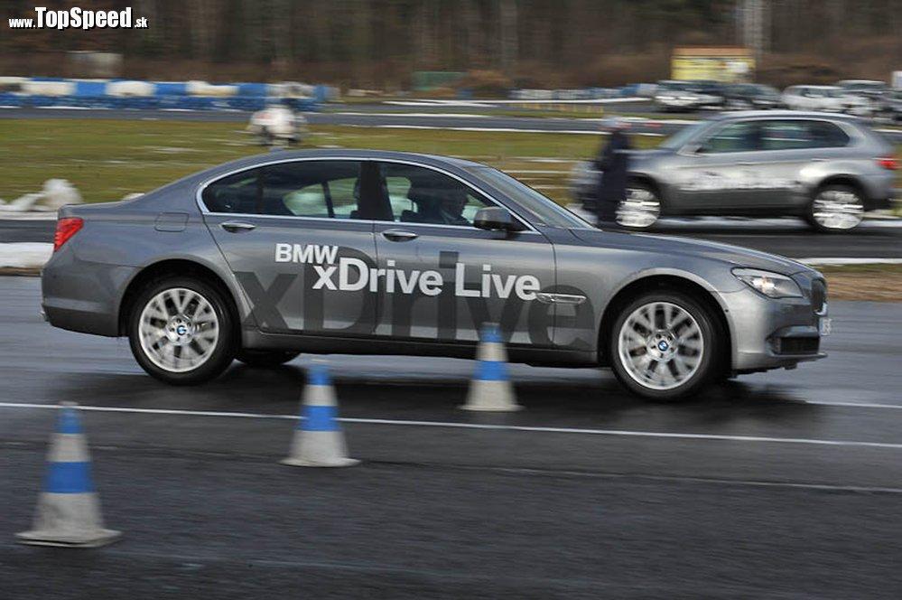 BMW 740xd v akcii
