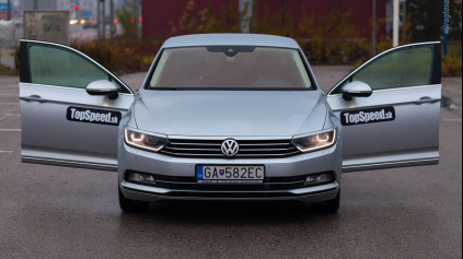 TEST VW PASSAT B8 2.0 TDI DSG HIGHLINE