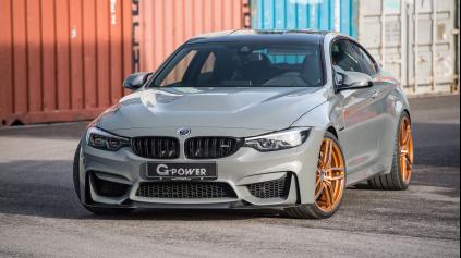 BMW M4 G-POWER CS F82 JE AUTO, KTORÉ ZVÝŠI ADRENALÍN
