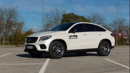 Test Mercedes GLE Coupé 350d