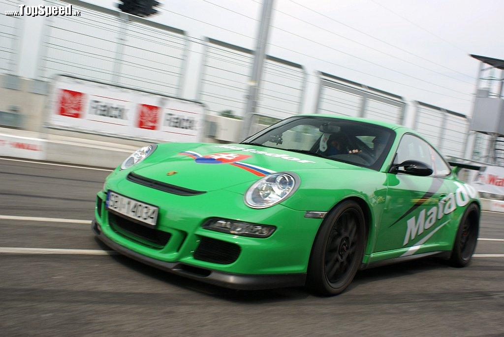 Porsche 911 GT3 RS je v Štofiho rukách naozaj pekelne rýchle auto