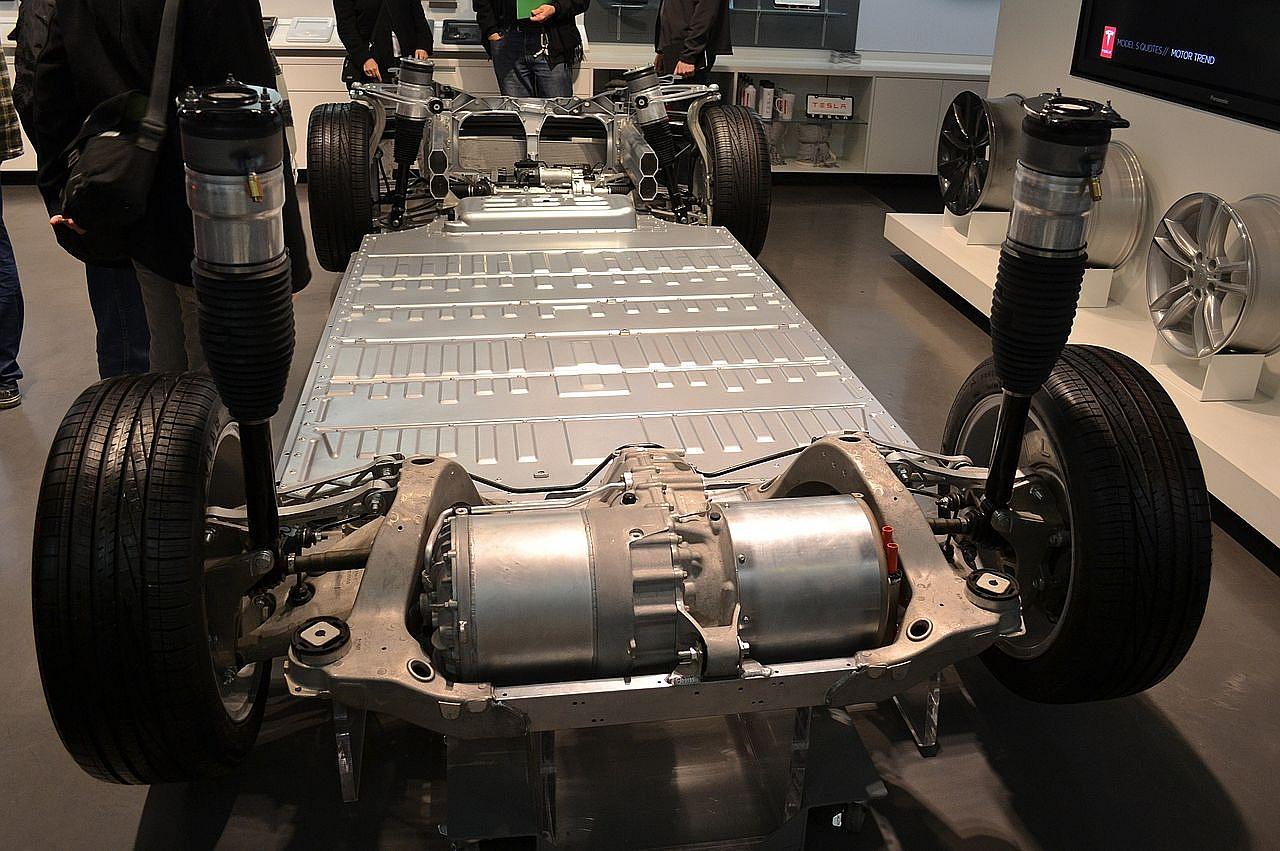šasi Tesla Model S