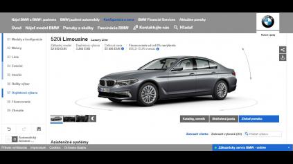 Porovnanie konfigurátorov: BMW konfigurátor