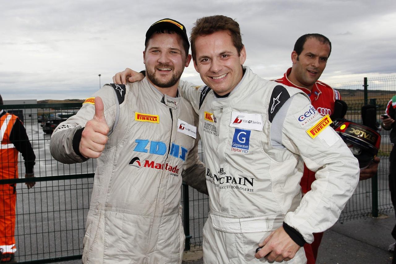 Stefan Rosina pole position Navarra FIA GT1