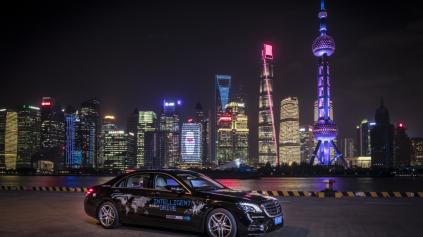 Autonómny režim Mercedesu pripravujú na Šanghaj