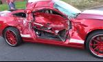 Pokus o burnout na Shelby GT500 skončil zle