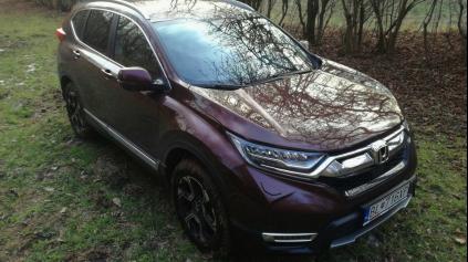 Testujeme SUV Honda CR-V 1.5 VTEC Turbo 4WD CVT. Čo vás zaujíma?