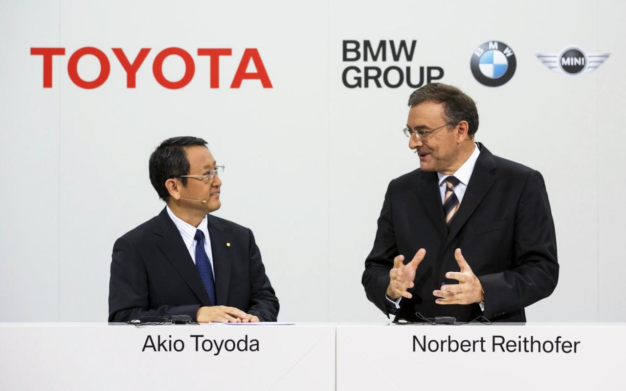 Akio Toyoda a Norbert Reithofer