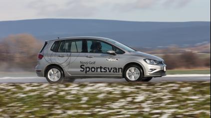 Test Volkswagen Golf Sportsvan 1,5 TSI DSG