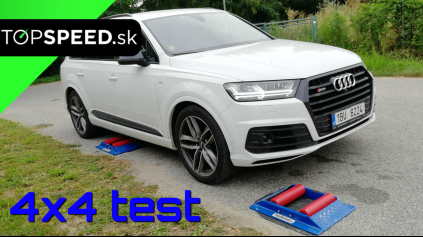 Audi SQ7 4x4 test inteligencie pohonu