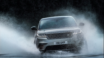 Nový Range Rover Velar ponúkne brodivosť až 650 mm