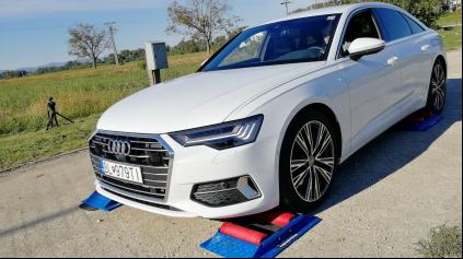 Audi A6 quattro 4x4 test