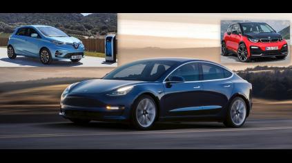 Predaje elektrických áut rastú, za rok 2019 majú ďalší rekord