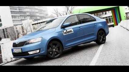 Test Škoda Rapid 1.2 TSI Elegance
