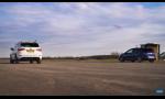Šprint Volkswagen Golf R a Cupra Ateca, hatchback vs SUV