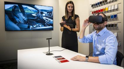 Virtuálna realita Audi ponúkne v predajniach nový zážitok