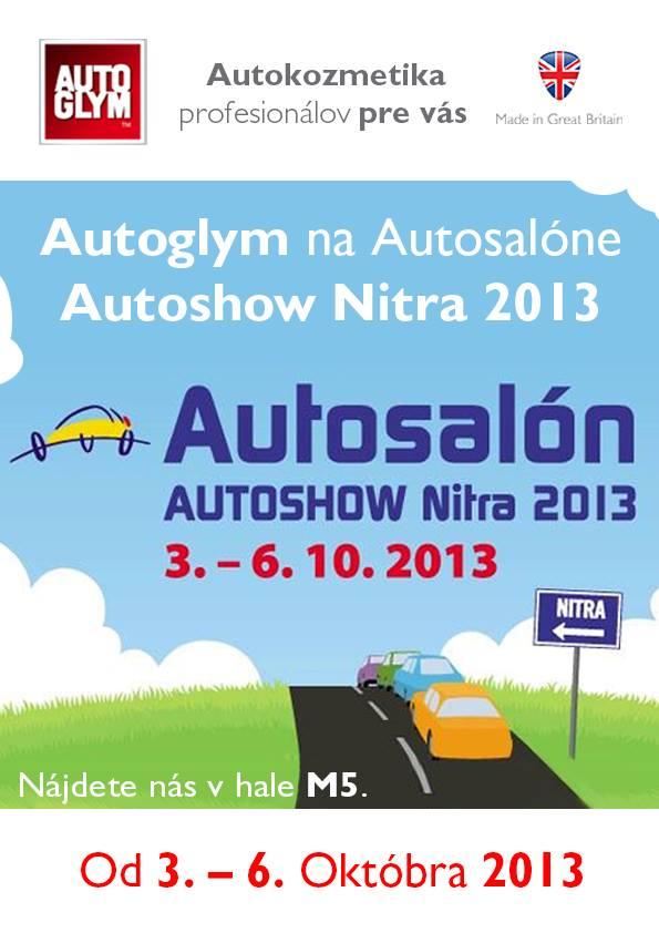 Autoglym Autosalon Nitra 2013