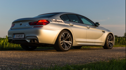 Test BMW M6 Gran Coupé (F06)