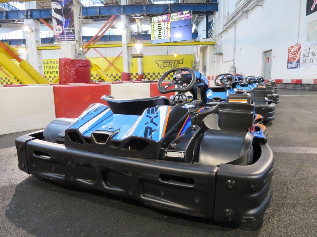 Karting na školách