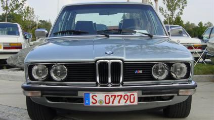Spomeňme si na prvé BMW radu 5 (E12 1972-1981)