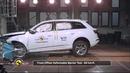 Novinka Audi Q8 Euro NCAP prešla bez straty hviezdičky