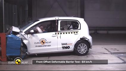 Aj elektrické VW up! Euro NCAP prešlo, avšak nie na 5 hviezd