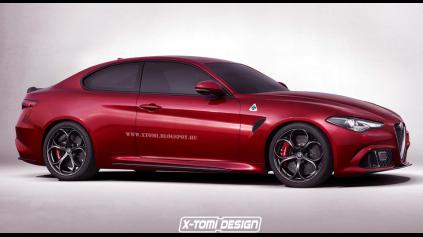 Alfa Romeo Giulia kupé bude mať možno premiéru už v Ženeve