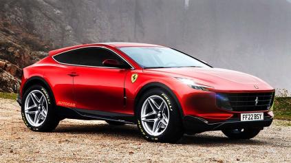 Ferrari súdi charitu o meno pre svoje SUV