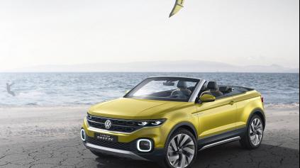 ŽENEVA 2016: VW T-CROSS BREEZE JE MALÝ CROSSOVER BEZ STRECHY