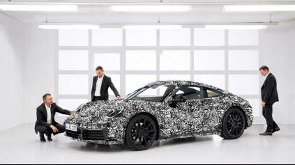 Porsche 911 nebude plne elektrické. A čo Cayman?