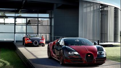 Rozlúčka s Bugatti Veyron v podobe špeciálnej verzie La Finale