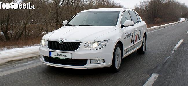 Test: Škoda Superb 3.6 FSI V6 4x4