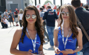 FOTOREPORT WTCC SLOVAKIA RING 4: BABY A HOSTESKY ALIAS PIT BABES