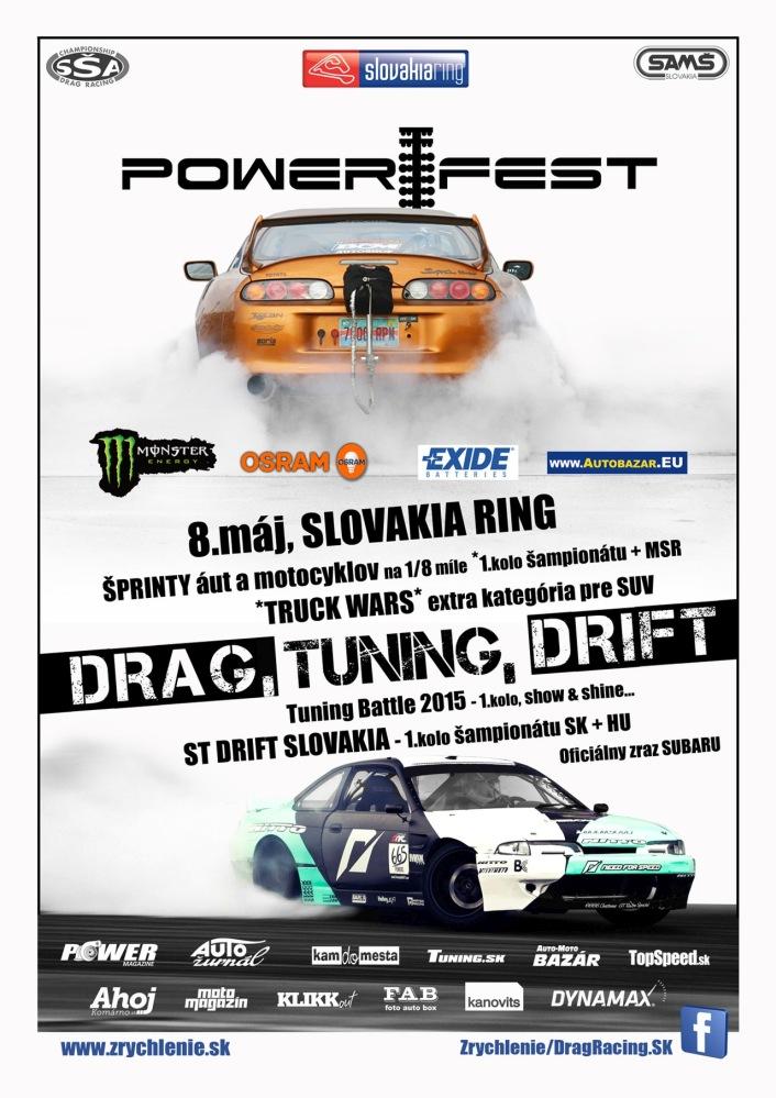 2015 PowerFest Slovakiaring plagat