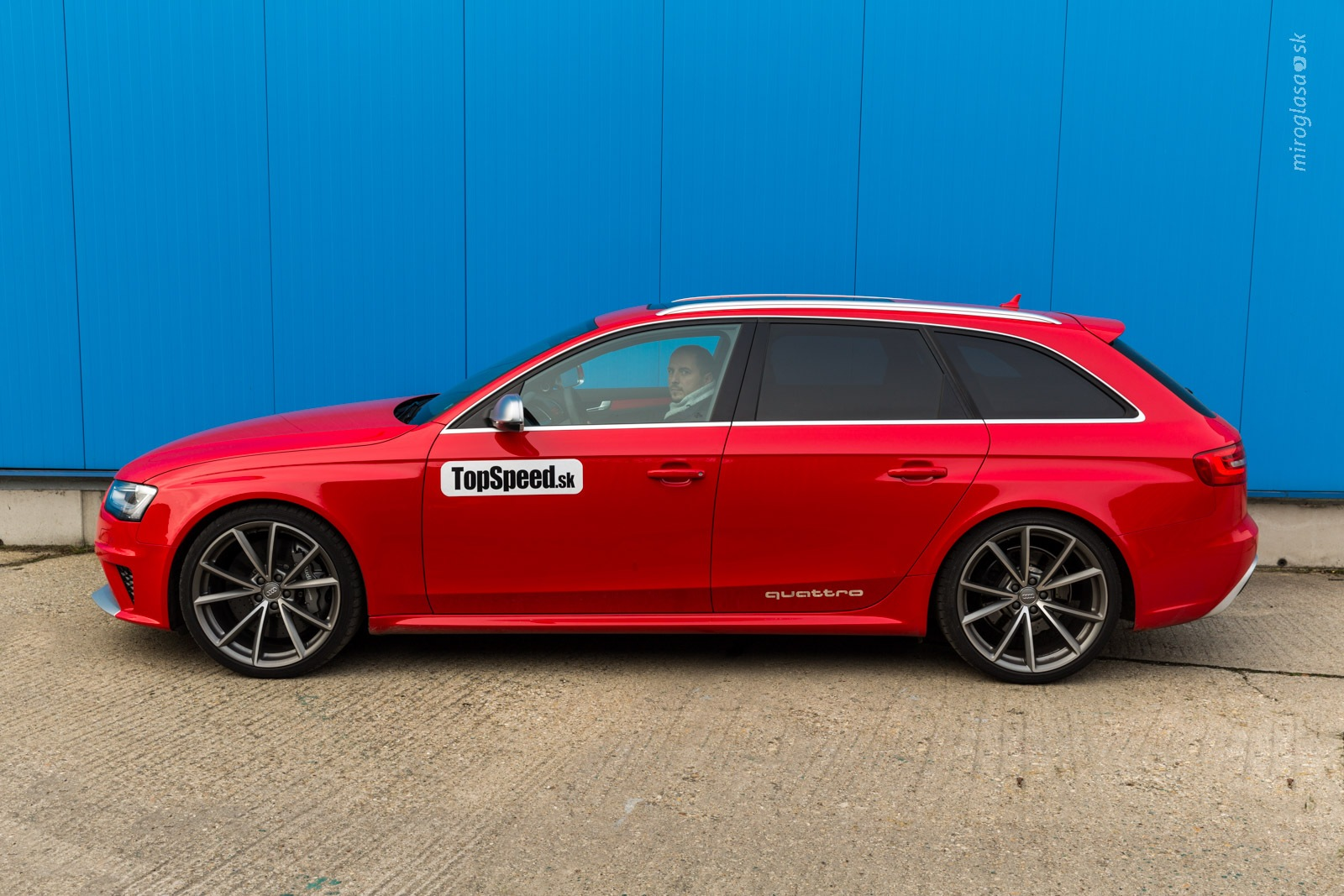 TopSpeed.sk test 2014 Audi RS4 B8