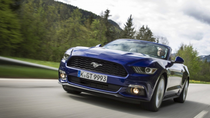 Test: Ford Mustang Cabrio 2,3 EcoBoost (6 gen.)