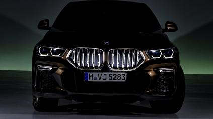 Za príplatok BMW X6 podsvietené obličky zvýrazní LED svetlom
