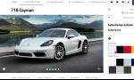 Konfigurátor Porsche je skutočne skvelý