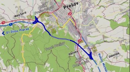 Obchvat Prešova do roku 2020? Za neskutočných 45 miliónov €/km
