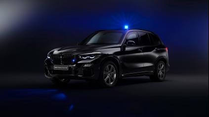 Nepriestrelné BMW X5 odolá výbuchu granátu