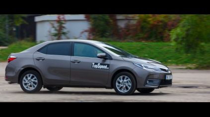 Test: Toyota Corolla 1,6 Valvematic
