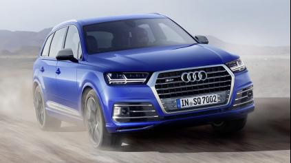 Audi SQ7 má motor 4,0 TDI, 435 koní, 900 Nm a elektrický kompresor