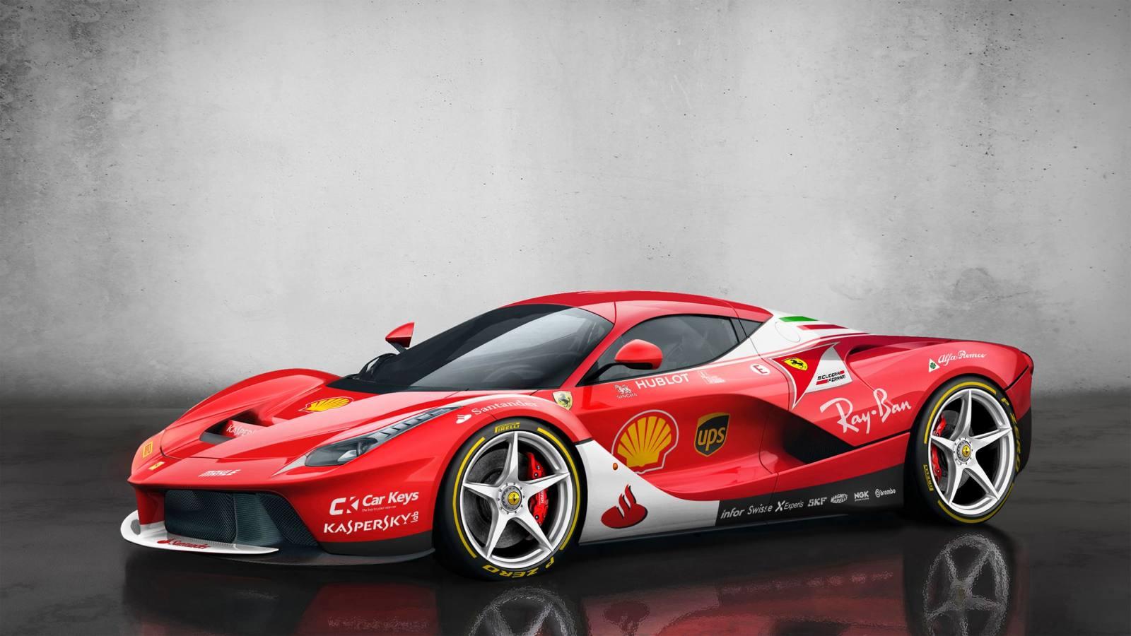 Ako by vyzerali hypercary v lakovaní tímov F1?
