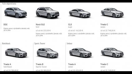 Konfigurátor Mercedes mohol byť najlepší, keby bol rýchlejší
