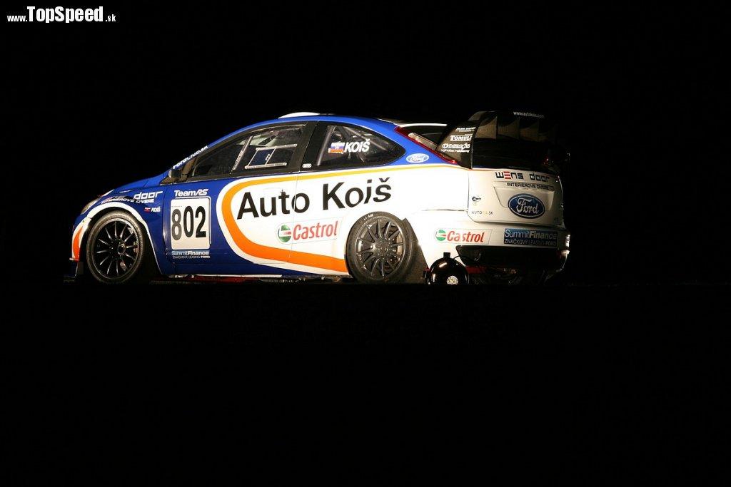 Ford Focus RS Koiš kopcový špeciál Martina Koiša