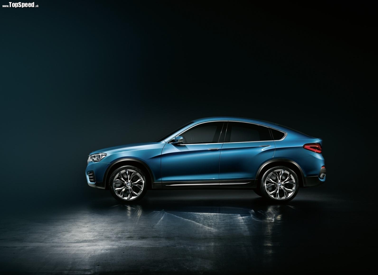 Profil doslova ukazuje menšieho súrodenca BMW X6.