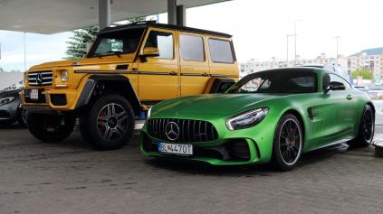 S Mercedes-AMG okolo Slovenska 3. časť