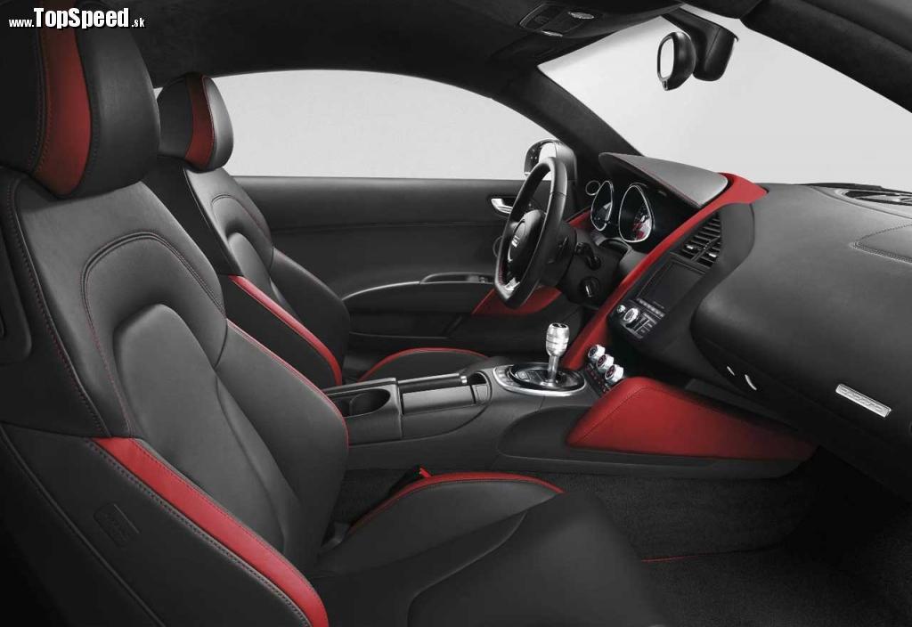 Interiér Audi R8 V8 Limited Edition